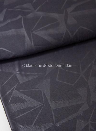 geometrische print antraciet - sportkleding / lycra