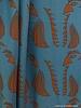 about blue fabrics Parrot blue viscose - Wonders of life