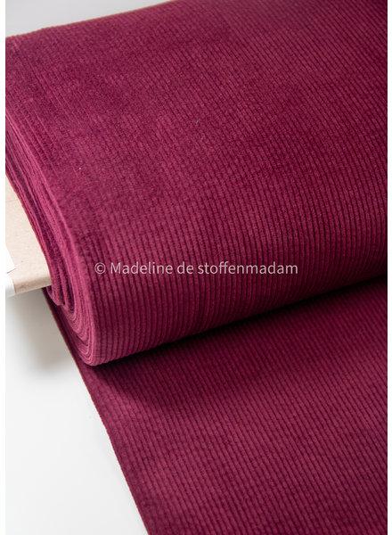 burgundy - corduroy - slight stretch