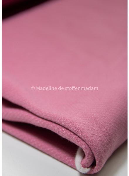 pink  - jacquard sweater brushed
