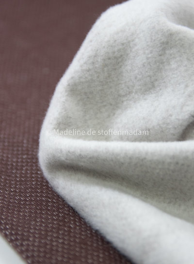 brown  - jacquard sweater brushed