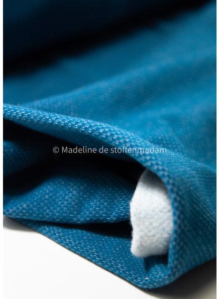 petrol - jacquard sweater brushed