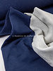 navy - jacquard sweater brushed