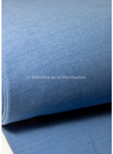 light blue - jacquard sweater brushed