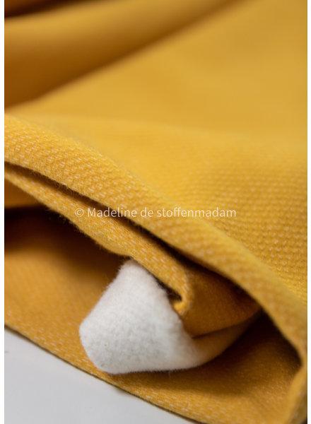 ocre  - jacquard sweater brushed