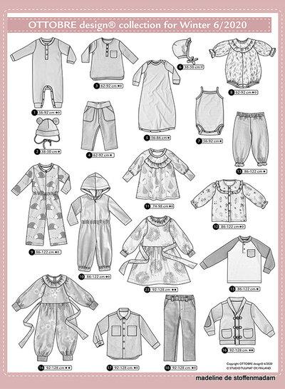 Ottobre kids winter 6/2020