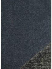 blauw jeans - happy fleece - zachte jogging