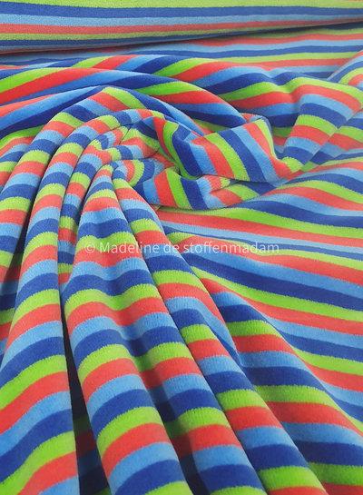 woody stripes - nicky velours - oeko tex