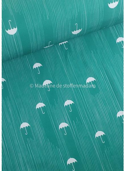 groene paraplu - softshell