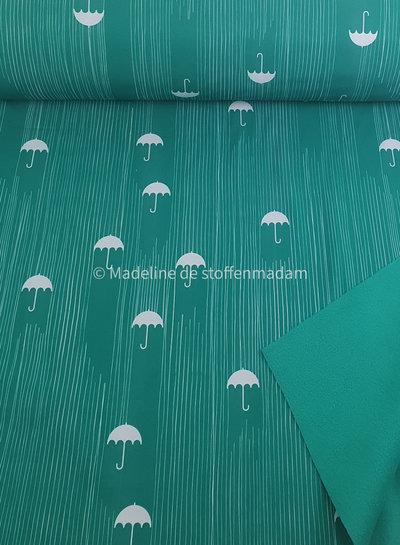 green umbrella - softshell