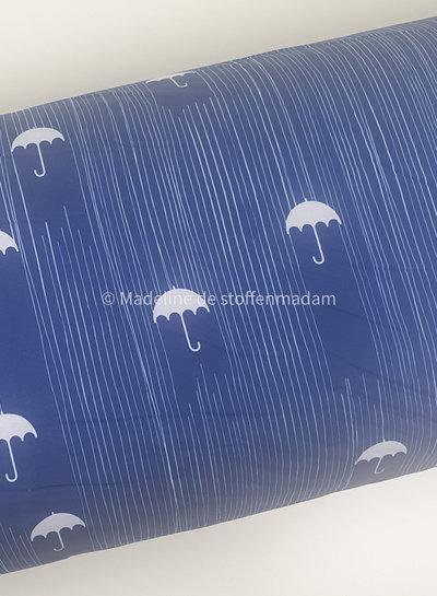 blue umbrella - softshell