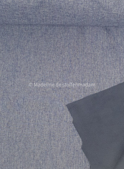 licht denim melange - softshell K