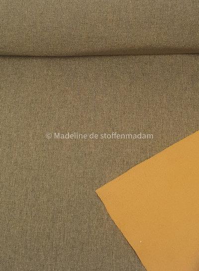 mustard softshell melange