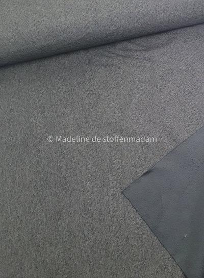 grey melange - softshell K