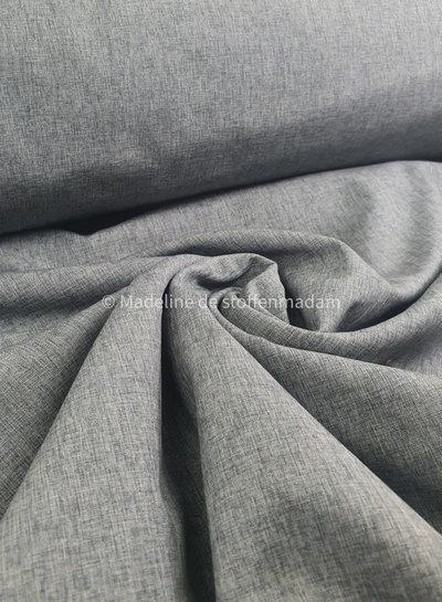 light grey melange - softshell K