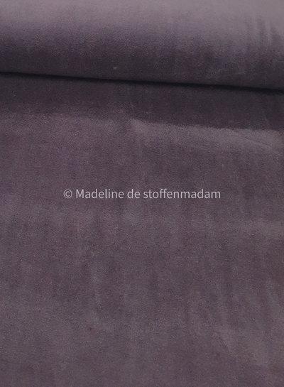M purple nicky velours