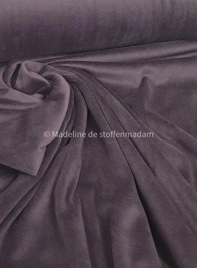 purple nicky velours