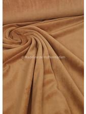 M medium brown nicky velours