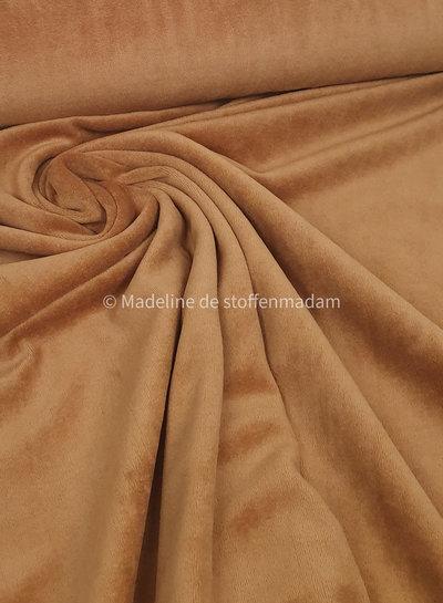 medium brown nicky velours