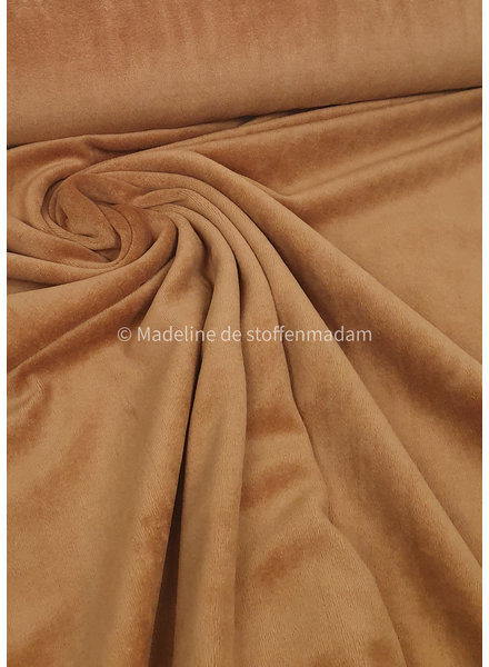medium brown nicky velours