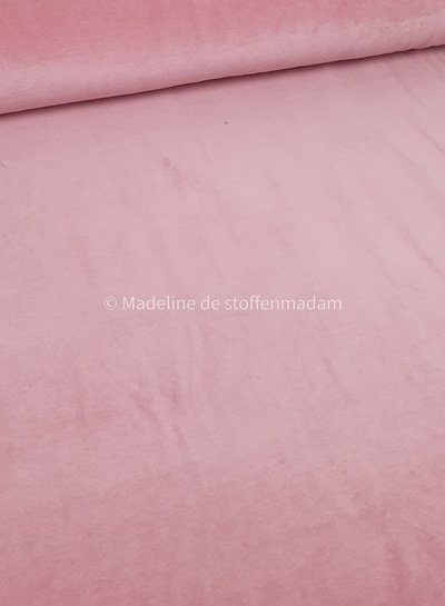 M soft pink nicky velours