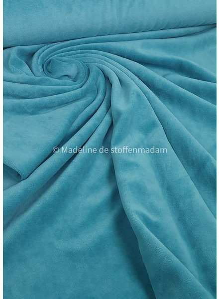 M turquoise nicky velours