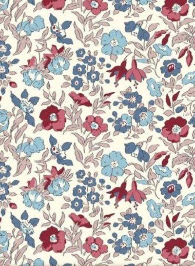 LIBERTY LONDON Winter flower Show mamie  - cotton