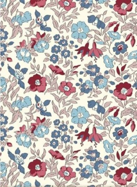 LIBERTY LONDON Winter flower Show mamie  - cotton