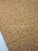 Swafing ocre  herringbone - woolen coat fabric