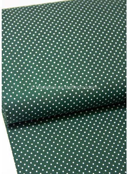 Swafing groen Judith dots kerst- katoen