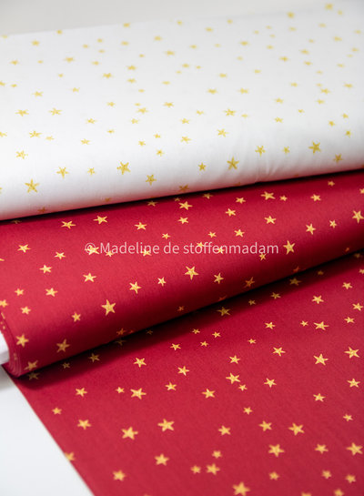 Swafing creme  christmas stars - cotton