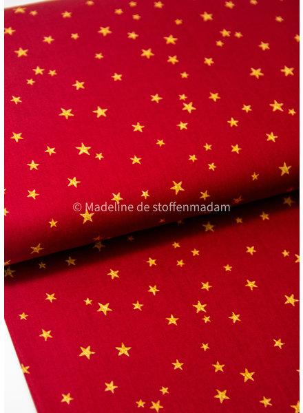 Swafing rood christmas stars kerst - katoen