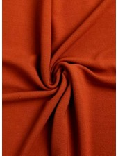 roest - structuur tricot met fijne ribbel