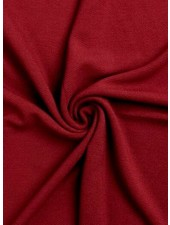 burgundy - structure jersey