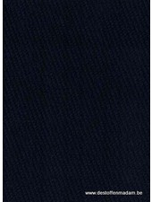 marine - structuur tricot met fijne ribbel