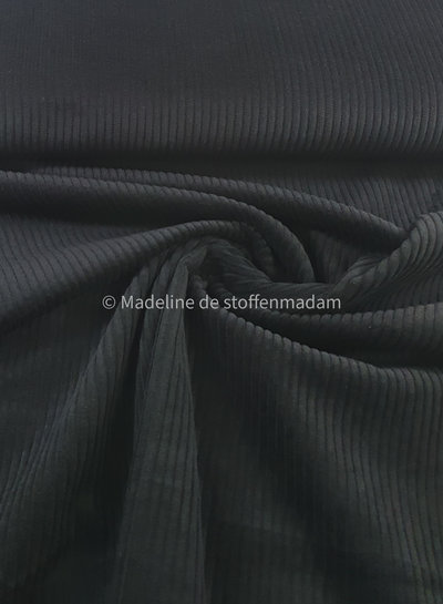 Swafing black corduroy - magnus
