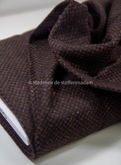Italian wool - brown