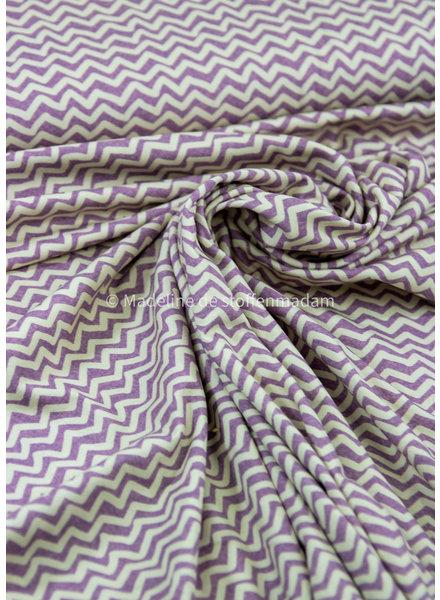 purple chevron - jersey