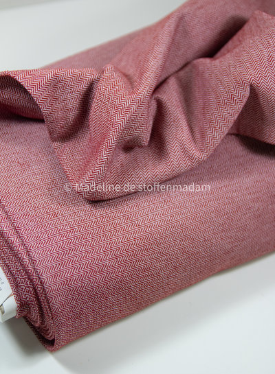 red mauro - structured jersey