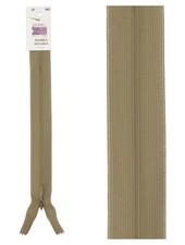 invisible zipper - taupe color 563