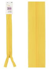 naadrits / blinde rits - geel kleur 506
