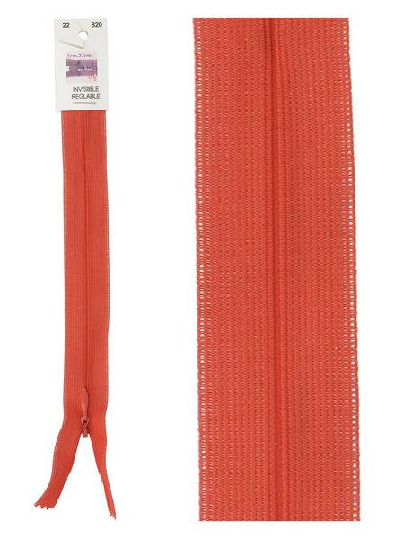 naadrits / blinde rits - lippenstift rood kleur 820