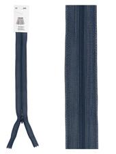 naadrits / blinde rits - marineblauw kleur 560