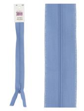 invisible zipper - light denim blue color 837