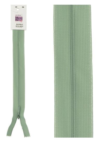 invisible zipper -mint green color 04