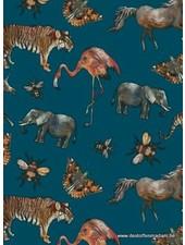 zoo - blauw petrol tricot