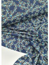 blue flowers - jersey