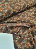 bruin bloemetjes - tricot