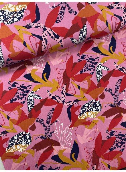 50 shades of pink - viscose tricot