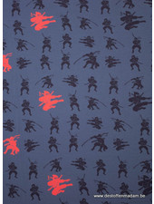 Ninja denimblue jersey